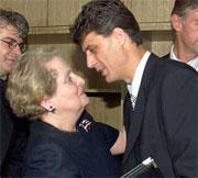 Good Gosh - Albright Has the Same Smitten Look as Hillary!
