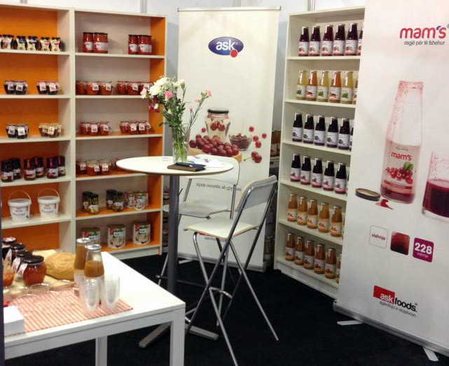 Kosovo food products at ExCeL – London