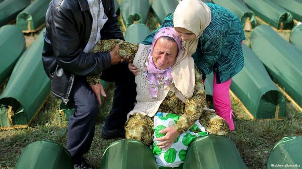 Bosnians rebury hundreds of Srebrenica massacre victims