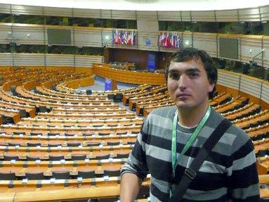 Nikola Stankoski, head of Volonterski Centar –Skopje says his organization wins EU funds in a fair way