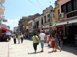 Downtown Struga
