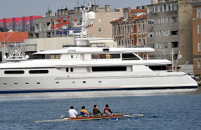 Several yachts have been confiscated as criminal property in the region. [AFP]